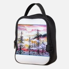 Landscape, colorful art! Neoprene Lunch Bag
