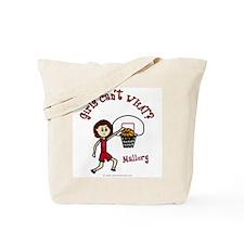 (Mallory) Basketball Tote Bag