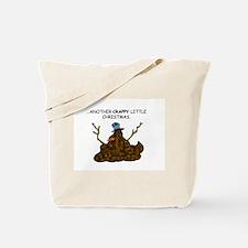 Crappy Snowman Tote Bag