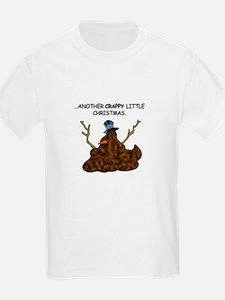 Crappy Snowman Kids T-Shirt