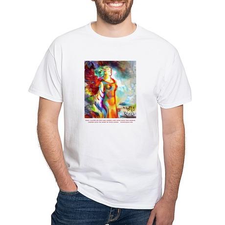 Zechariah 5 - White T-Shirt