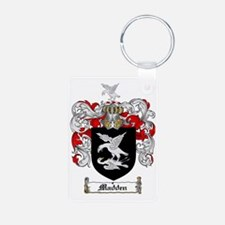 Madden Family Crest / Coat Aluminum Photo Keychain