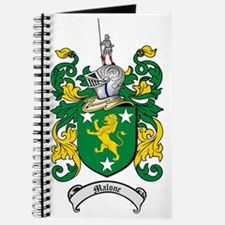 Malone Family Crest / Coat of Arms Journal
