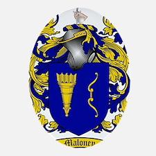 Maloney Family Crest / Maloney Coat  Oval Ornament