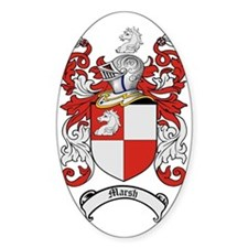 Marsh Family Crest / Coat of Arms Decal