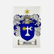 Martin Family Crest / Martin Coat Rectangle Magnet