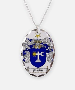 Martin Family Crest / Martin C Necklace