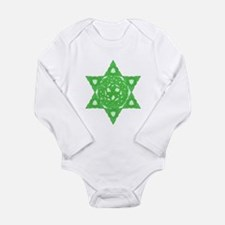 Celtic Star of David Infant Creeper Body Suit