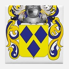 Costley Coat of Arms Tile Coaster