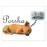 Porsha Dreams Small Poster