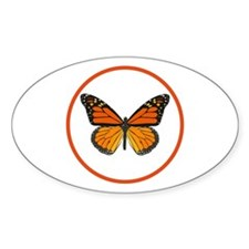 Monarch Butterfly Decal