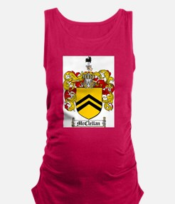 McClellan Family Crest - coat of arms Maternity Ta