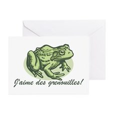 Love the Frog French Greeting Cards (Pk of 10)
