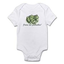 Love the Frog French Infant Bodysuit