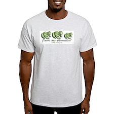 Love the Frog Italian Ash Grey T-Shirt