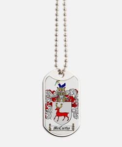 McCarthy Family Crest - coat of arms Dog Tags