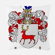 McCarthy Family Crest - coat of arms Woven Throw P