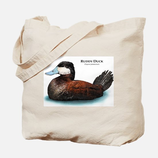 Ruddy Duck Tote Bag