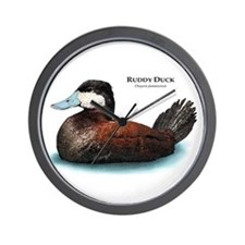 Ruddy Duck Wall Clock
