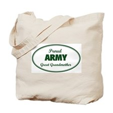 Proud Army Great Grandmother Tote Bag