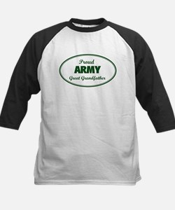 Proud Army Great Grandfather Tee