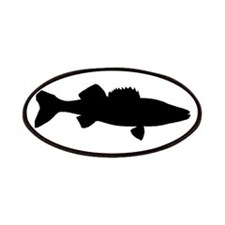 Black Walleye Patches