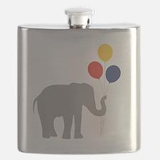 Party Elephant Flask