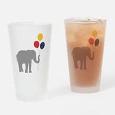 Party Elephant Drinking Glass
