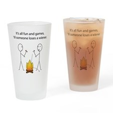 All Fun and Games Drinking Glass