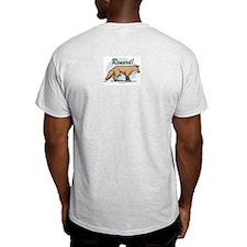Love the Fox French Ash Grey T-Shirt