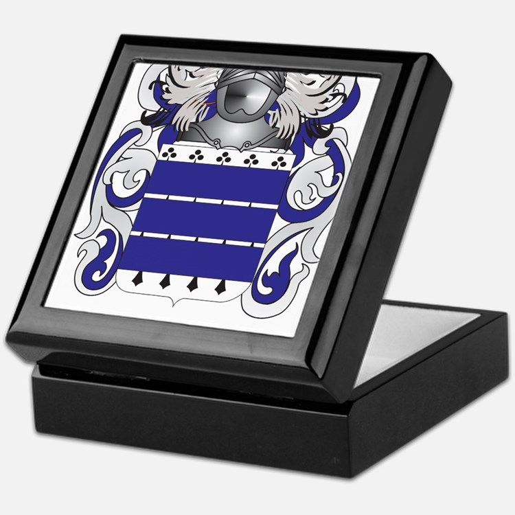 Coulter Coat of Arms Keepsake Box