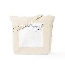 Parkinson Disease Sucks! Tote Bag