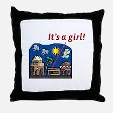 It's a Girl! -  Throw Pillow