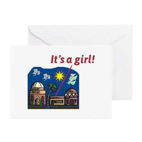 It's a Girl! - Greeting Cards (Pk of 10)