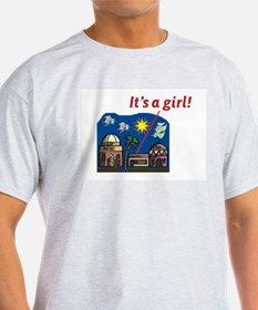 It's a Girl! -  Ash Grey T-Shirt