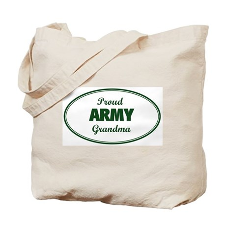 Proud Army Grandma Tote Bag