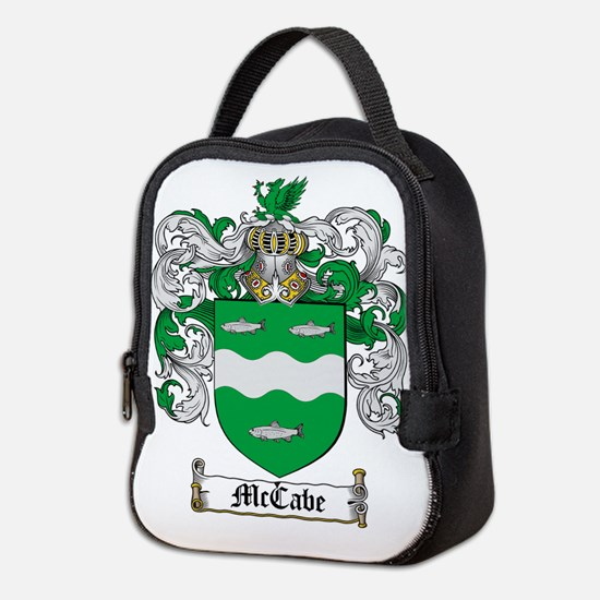 McCabe Family Crest - coat of arms Neoprene Lunch