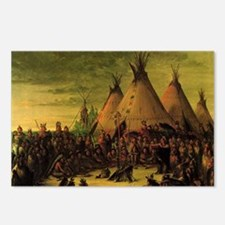 Sioux War Council by Geor Postcards (Package of 8)
