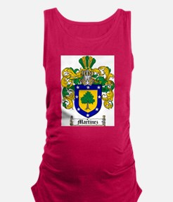 Martinez Family Crest - coat of arms Maternity Tan