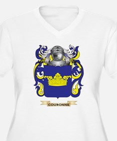 Couronne Coat of Arms Plus Size T-Shirt