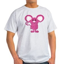 cute pink polka dot mouse T-Shirt