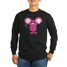 cute pink polka dot mouse T