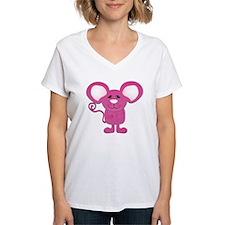 cute pink polka dot mouse Shirt