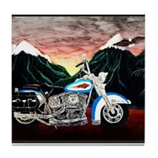 Motorcycle Dream Tile Coaster