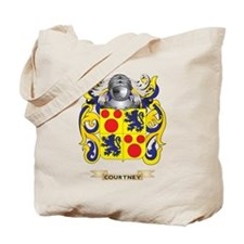 Courtney Coat of Arms Tote Bag