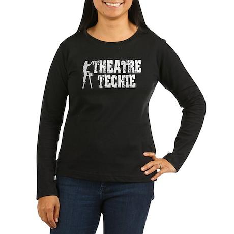 Stage Tech 1 Women's Long Sleeve Dark T-Shirt