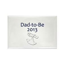 Dad-to-Be 2013 Rectangle Magnet