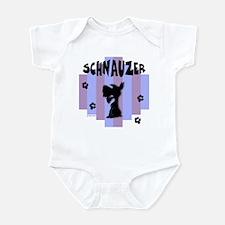 Schnauzer Stripe Infant Bodysuit