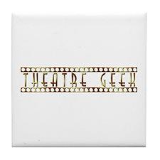 Theatre Geek Bronze Tile Coaster