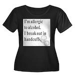 Allergic.jpg Plus Size T-Shirt
